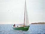 16 Segelboot